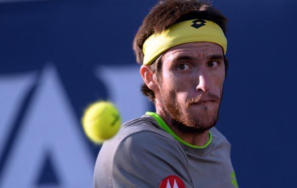 El correntino Leonardo Mayer sigue con buen pie en el torneo francés.