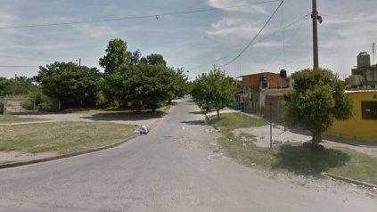 Ayacucho y pasaje 529, donde ocurrió el crimen.
