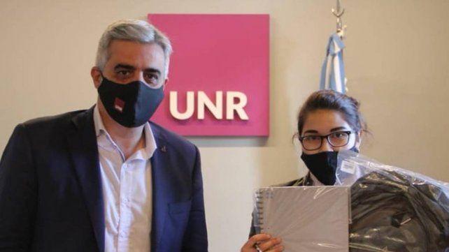 El rector de la UNR