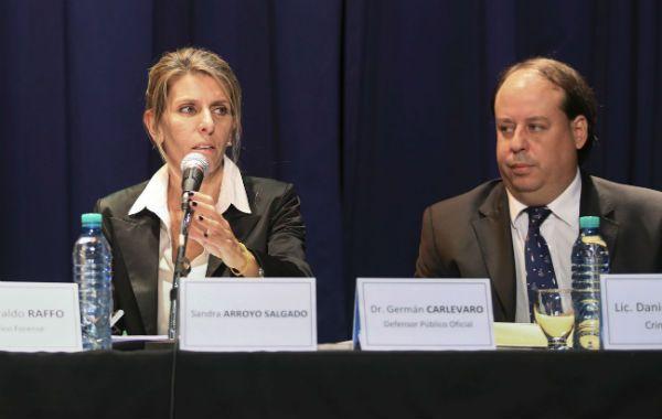 La jueza Sandra Arroyo Salgado aseguró que a Alberto Nisman lo mataron y que fue un magnicidio.