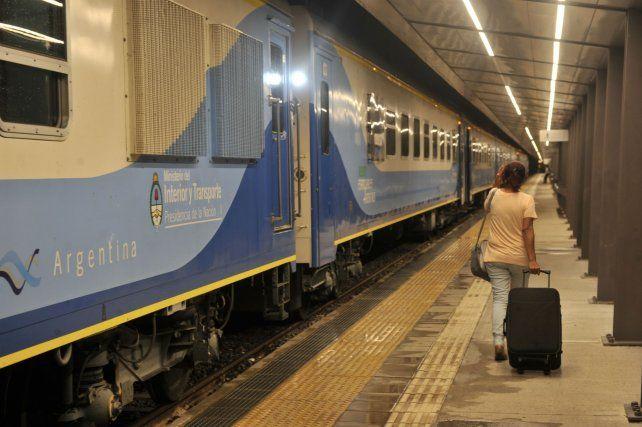 En la terminal se construyó un nuevo andén sobre el lado que tiene dirección a Buenos Aires.