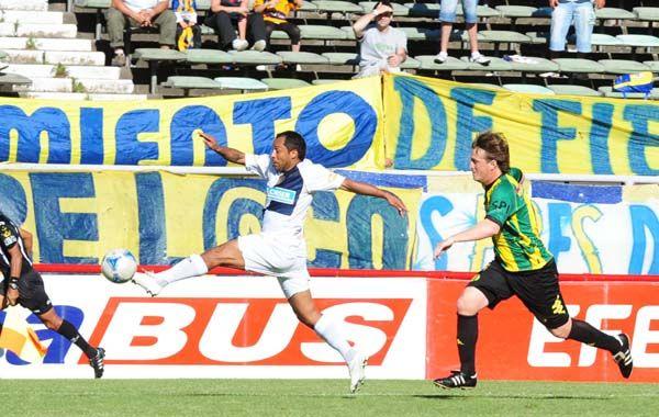 El Sapito Encina tuvo una gran actuación en el último partido ante Aldosivi.