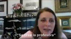 Escrachadas. Las profesoras se burlaron de alumnos, el video fue subido a las redes y se hizo viral.