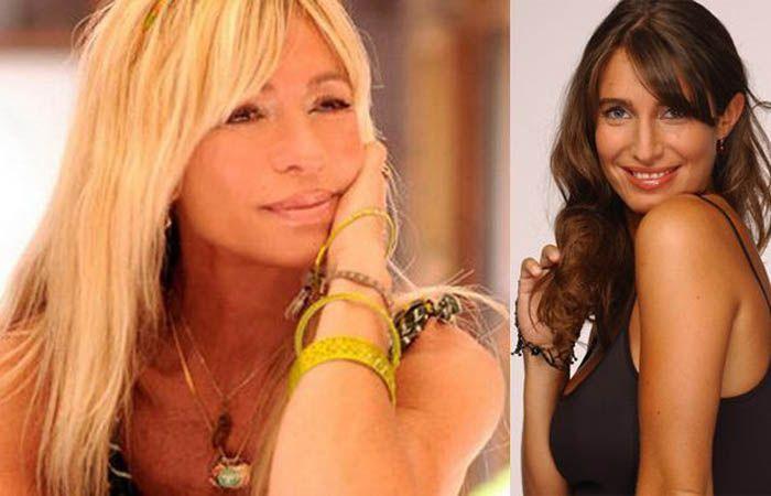 Cris Morena y Romina Yan.