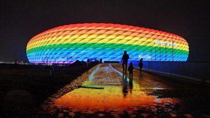 El Allianz Arena, de Múnich, no se iluminará con los colores de la bandera LGTBI.