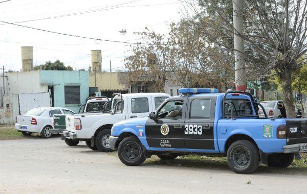 Allanamientos de la policía santafesina con resultados positivos en Rosario.