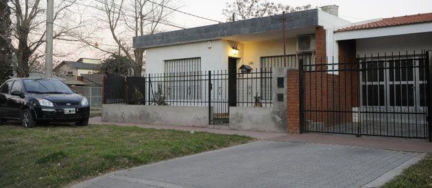 La casa donde dominaron a un hombre de 37 años y su mujer embarazada de cinco meses. (Foto: Sebastián Suárez Meccia)