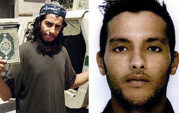 Peligrosos. Abdelhamid Abaaoud (izq.) y Charaffe al Mouadan eran miembros importantes del grupo yihadista.