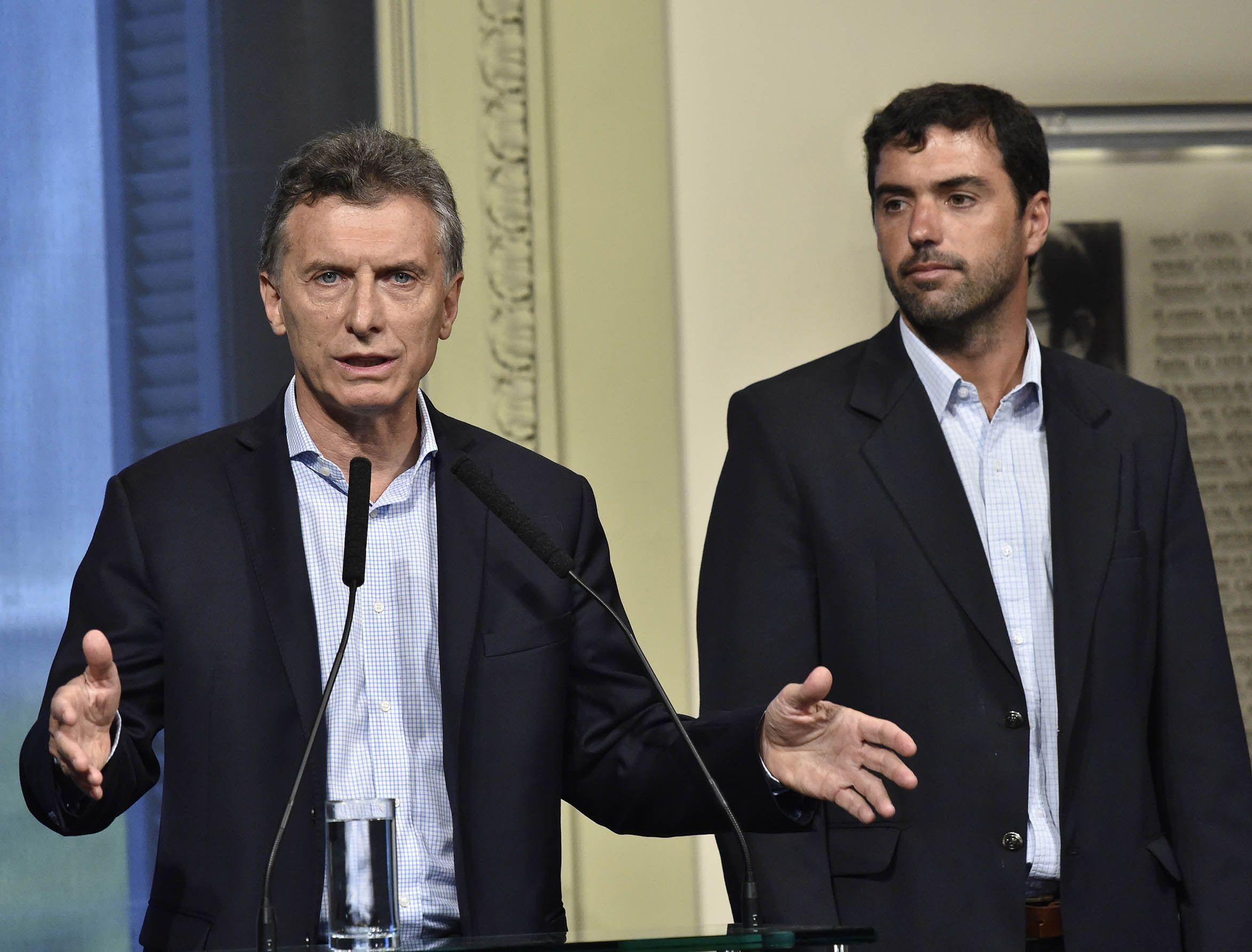 Macri recordó que esta es la primera actualización automática de la AUH que ahora también tiene movilidad. (DyN)