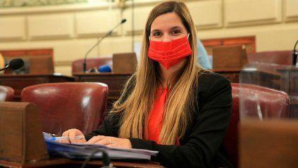 La diputada provincial Lorena Ulieldín (FPCyS-Socialistas).