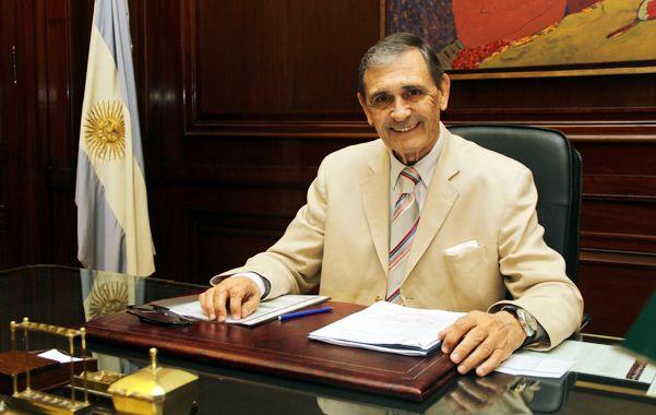Castellani en su despacho de Casa Central. Conoce a Macri hace años y casi fue postulante a vice de Del Sel.