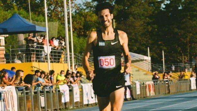Elián Larregina y Federico Bruno (foto) batieron nuevos récords argentinos en las competencias de 400 y 1.500 metros
