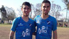 De vuelta al salaíto: Nicolás Brahim y Alexis Alvarado son las nuevas caras del plantel comando por Damián Sciretta para disputar el próximo torneo de la Primera D.
