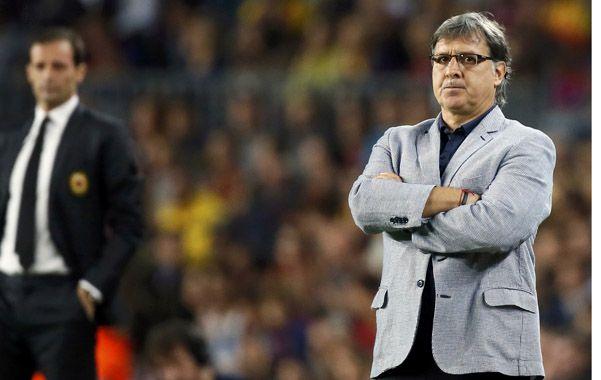 Ovación fue testigo durante un par de semanas de la vida que lleva el Tata como DT de un equipo globalizado como Barcelona.