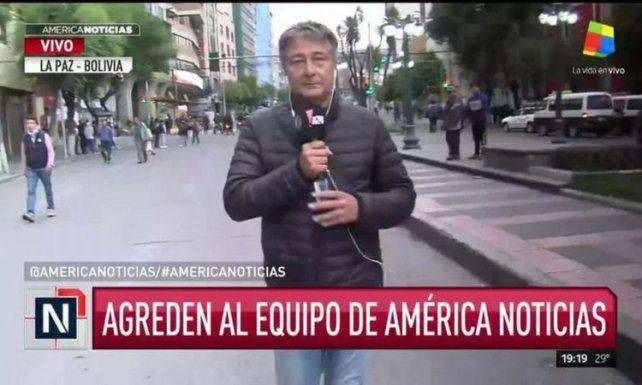 Periodistas argentinos debieron refugiarse en la embajada en Bolivia
