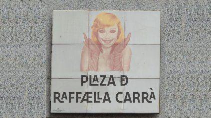 España homenajea a Raffaella Carrà: una plaza de Madrid llevará su nombre