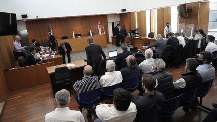 La audiencia en la que se imputará a los directivos de Vicentin se desarrolla en este momento en el Centro de Justicia Penal.