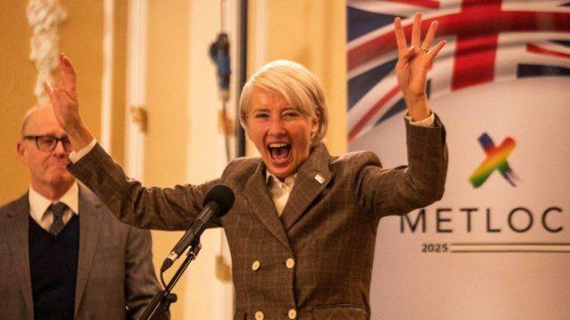 Líder que mete miedo. Emma Thompson interpreta a una política muy poco convencional que va escalando posiciones.