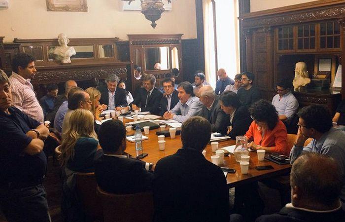 Seghezzo y Asegurado estuvieron hoy reunidos con concejales.