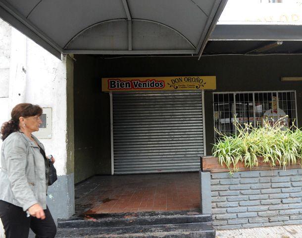 El robo en Don Oroño se produjo el martes por la noche. (Foto: Virginia Benedetto)