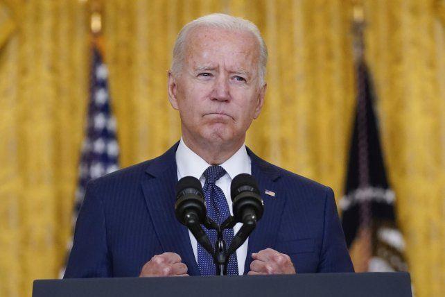 Biden condenó el doble atentado en la capital de Afganistán.