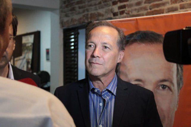 Rubén Giustiniani (Igualdad) es respaldado por Pablo Javkin.