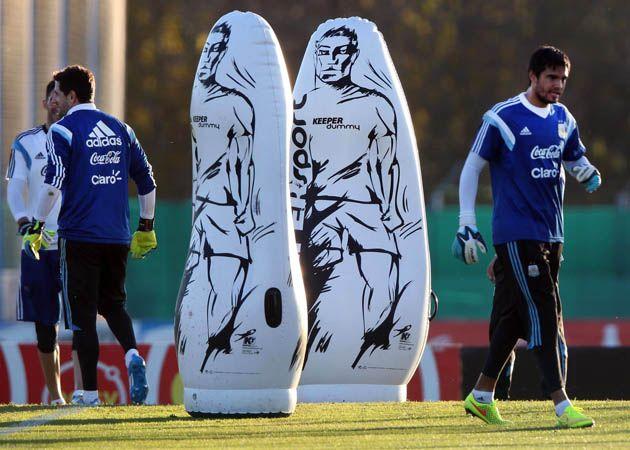 Romero será el arquero titular del seleccionado.