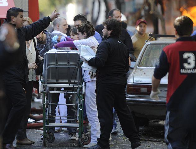 Los clubes de Rosario mostaron su solidaridad con los damnificados por la explosión.
