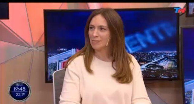 María Eugenia Vidal reapareció públicamente para presentar su libro.