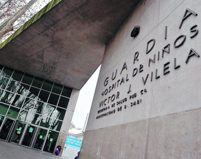 Final trágico. El bebé de seis meses falleció el domingo en el Hospital Vilela.