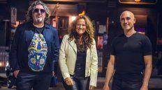 Daniel Sader, Mirna Manassero y Guillermo Juster, este sábado en El Escaramujo.