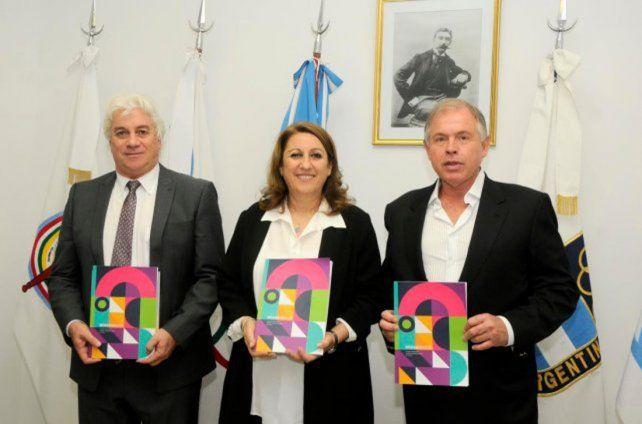 La imagen de la presentación de dossier de Rosario.
