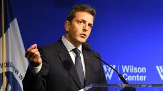 Massa: Fue un error del gobierno recurrir al FMI