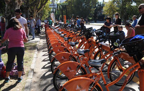 movilidad sustentable. La iniciativa de bicicletas públicas apunta a mejorar la movilidad y calidad de vida dentro del éjido urbano.