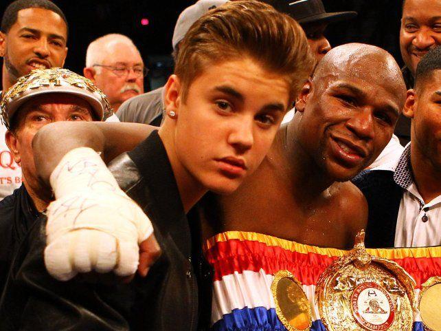 Sos un traidor, lanzó Floyd Mayweather para terminar su amor con Justin Bieber