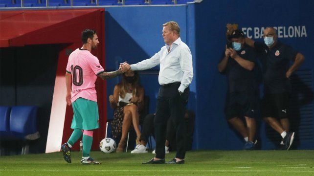 Koeman: Siempre buscan a Messi como el principal culpable de todo