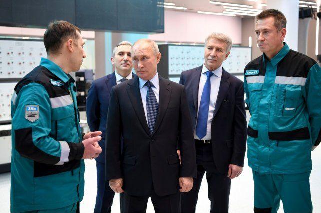 PRESIDENTE. El líder de Rusia
