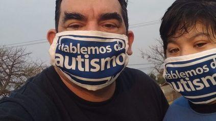 San Lorenzo. Leopoldo Pistán, de la ONG Padres por los derechos del niño, es uno de los autores del proyecto de construir un Centro municipal de detección temprana.