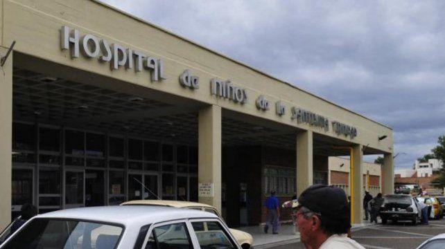 La niña de dos años murió en el Hospital de Niños de Córdoba.