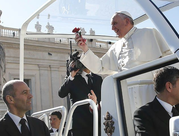 El papa Francisco dijo que un matrimonio no es logrado sólo si dura