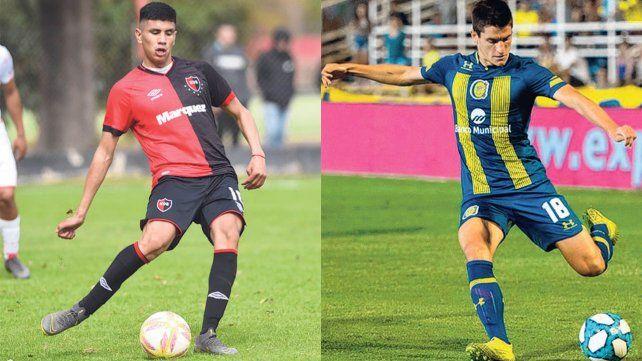 Nicolás Castro y Francesco Lo Celso