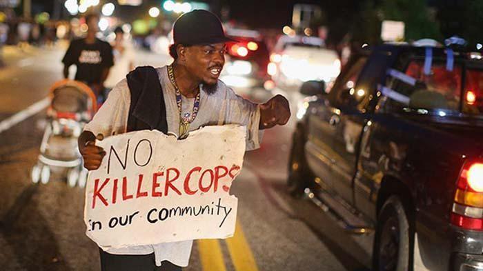 La cominidad afroamericana se manifestaba en Missouri y en distintas ciudades norteamericanas.