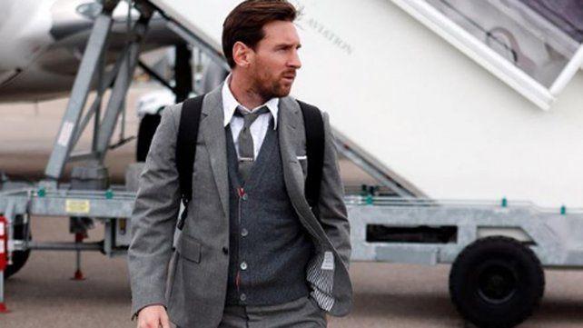 El nuevo look de Messi provocó mensajes calientes de Neymar, Agüero y el Chino Darín