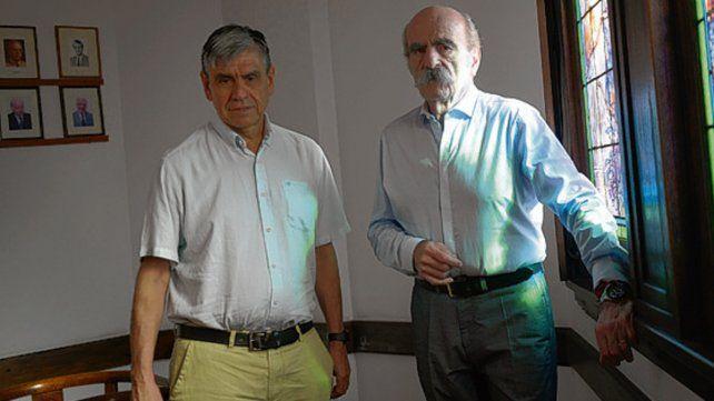 Organizadores. Diego de Mendoza y Oscar Fay.