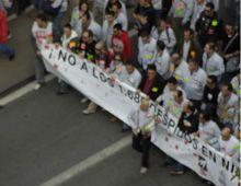 Las protestas por el despido de trabajadores está globalizada