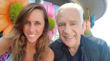 Estefanía Pasquini y Alberto Cormillot, felices con la buena nueva.
