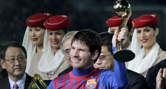 Messi ahora fue aclamado como el Campeón de los campeones del mundo