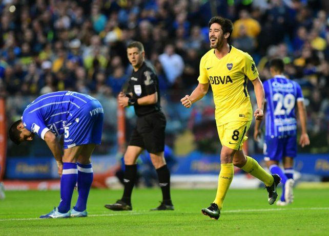 Pablo Pérez: Este es mi mejor momento desde que estoy en Boca
