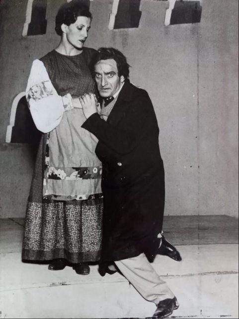 Ilde Pirovano y Orestes Caviglia actúan juntos en una versión de