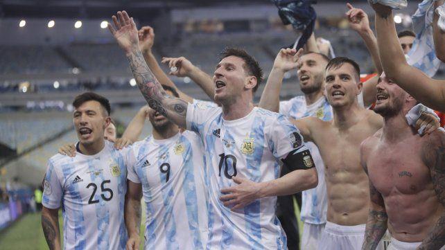 Con Lionel Messi a la cabeza
